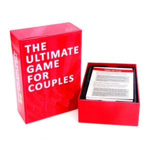 Venta al por mayor de parejas para tarjetas Conversaciones de juegos y desafíos divertidos para la noche Night Ultimate tarjetas juegos