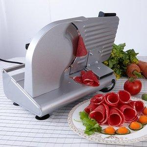 Мясорубки MS-305C Нержавеющая сталь Электрический слайсер нарезанные ломтики баранины нарезать фрукты и овощи для резки хлеба