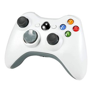Game Controller For X Box 360 Gamepads Game Accessory White Double Shock Game Controller sqcsLo bdejewelry