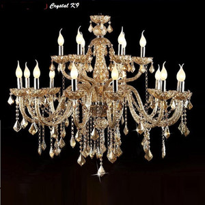Crystal Chandelier Lighting Living Room lustres de cristal Decoration Tiffany Pendants and Chandeliers Home Lighting Indoor Lamp