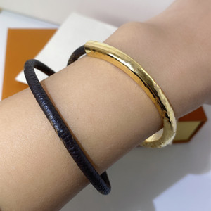 Hohe qualität dunkle schnalle armband für frau mode leder blume armband retro trend armband schmucksachen