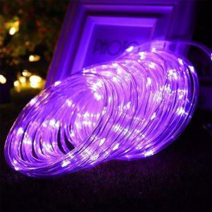 LED Rope Lights Outdoor Fairy Light Safe Voltage Plug Operated LED Strip Decoration for Christmas Garden Trees Street Party 201023
