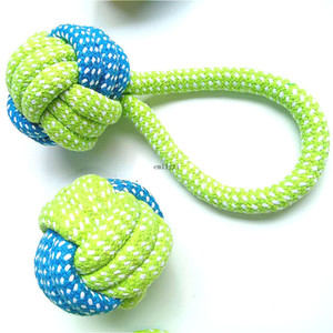New Dog Toy Puppy Cotton Chews Rope Knot Ball Grinding Teeth Cleaning Tooth Pet Toys For Small Medium Large Dogs Pet Product