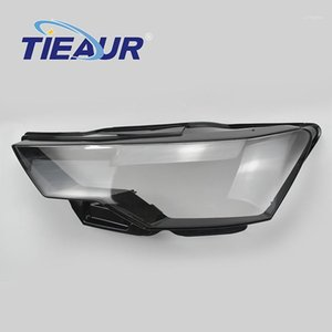 Headlight Headlamp Clear Auto-Shell-Cover For A6 C8 Headlight Transparent Glass Lens Cover 18-20 Replacement DIY1
