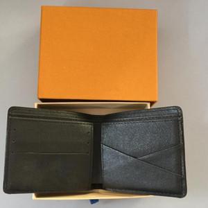 Mens Luxuxentwerfer Wallet 2020 neuen Männer Leder mit Mappen für Männer Portemonnaie Men Wallet LL1