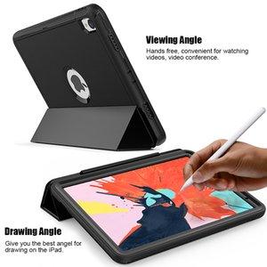 For Samsung T580N  T585C P580N TAB A10.1 10.5 T590 With Built-in Pencil Hplder Customized Design Foldable Magnetic Shockproof Tablet Cover
