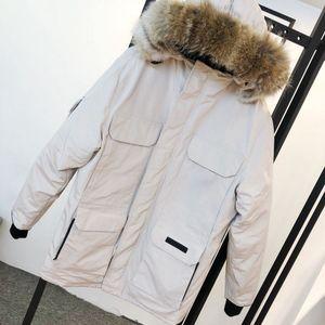 2020 Giacche Uomo giacca a vento con cappuccio spessore caldo lettere Ricamo Casual Fashion cappotti di inverno Down Jacket doudoune parka formato XS-2XL