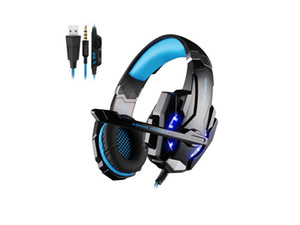 Stereo Gaming Headset for PS4, PC, Xbox One Controller, Noise Canceling Over Ear Headphones with Mic, Bass Surround, LED Light