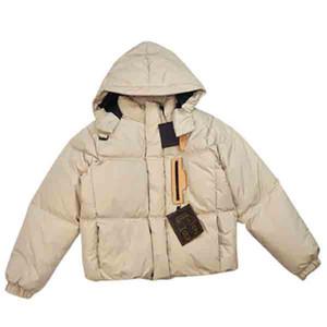 Designer Designer Parkas Top Quality Women Women Hooded Inverno Cappotto caldo Moda Donna Giacca Black Beige Colore con etichette Dimensioni 44 48 48 50