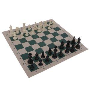 التقليدية نشمر مات CHESS BOARD GAME مجموعة 32 قطعة حزب المرح صالح الصغيرة