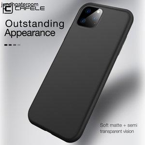 Cell TPU Cafele Silicone Nouveau Slim Couverture Mode personnalisée Matte Mobile Case pour téléphone 11/12