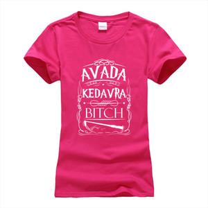 summer cotton brand camisetas punk tops tee Avada Kedavra funny print women t shirt 2020 Fashion harajuku cotton tee shirt femme