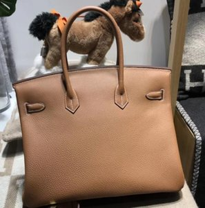 Лучшие продажи качества Iconic Berkin 25-30-35-40cm Taurillon Leather Fashion тотализаторов сумки, Turn замок сумки закрытия качества
