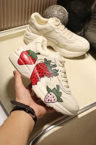 Rhyton Schuhe Sneaker Luxus Stiefel Leder daddy Schuhe geninue Leder Größe US5-US10 mit Box recept