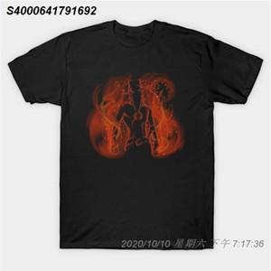 Homens tshirt FLAMING pirata camiseta Mulheres camiseta 57131210