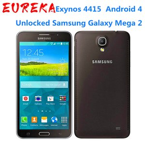 Original Samsung Galaxy 6inch Mega2 G750F 1.5GB RAM 16GB Rom Dual Sim 4G LTE 13MP Camera Android 4.4