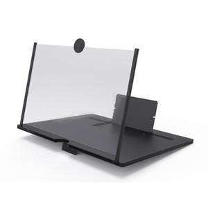 الشاشة مكبر للصوت شاشة الهاتف المحمول الهاتف مكبرات الصوت سحب خلية مكبر للصوت أكبر مشاهدة شاشات 3D زاوية الفيديو مكبرات الصوت 10 بوصة OWD1261