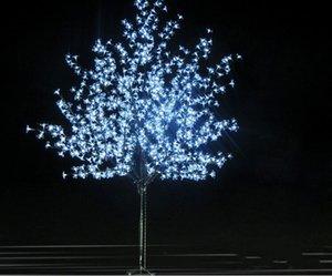2 متر 1152leds لامعة بقيادة الكرز زهر شجرة عيد الميلاد إضاءة ماء حديقة المشهد الديكور مصباح لحضور حفل زفاف