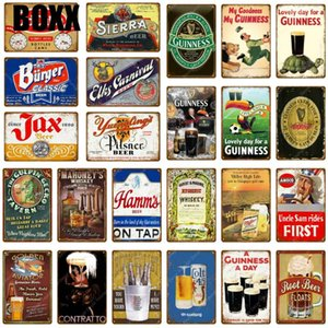 Cheers Beer Metal Signs Painting Art Poster Antique Plate Club Pub Home Decorative Plate Tiki Bar Party Grill Retro Wall Sticker Wall Decor