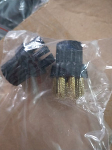 Nozzle Nylon Metal Wire Brush Brushes For Steam Mop Replacement