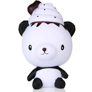 Squeeze soft Exquisite Fun Q Poo Panda Scented Squishy Charm Slow Rising 13cm Simulation Toy Funny Gift Z0220