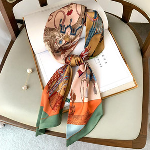 New Korean version of the decorative thin and long strip of horse scarves female decorative scarf hair band straps with ribbons