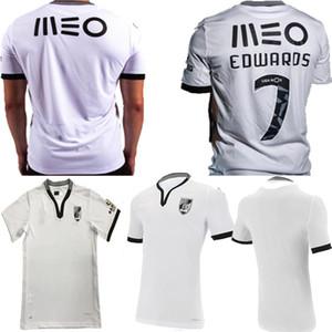 جديد 2020 2020 2021 Vitória Guimarães SC لكرة القدم الفانيلة Vitoria Guimaraes Pepelu Sacko Mensah A.andre Edwaros Home Shirts