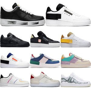 with free socks 2021 Forces Mystic Navy Have A Day Dunk One 1 Mens Women Running Shoes Volt Flax Olive Skateboad Shoes 36-45