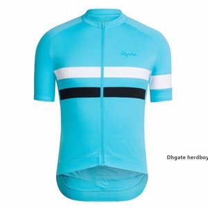 2021 Cycling Jersey Men Rapha Cycling Clothing Racing Sport Bike Jersey Top Cycling Wear Short Sleeves Maillot Ropa Ciclismo