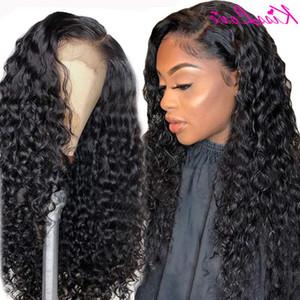 Cisslove Deep Wave 13x6 13x4 Передние человеческие парики для волос для черных женщин Prepluk Trueless Бразильский вьющиеся 5x5HD кружевной замыкающий парик