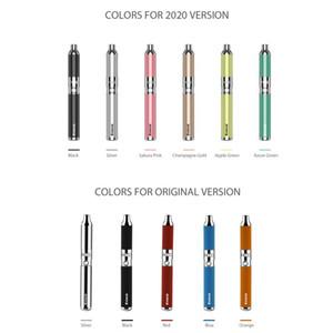 Authentic Yocan Evolve Quartz Dual Coils Wax Pen Kit Vape Pens 510 thread E-cigarette Kits Yocan Evolve Plus Vape Cartridges vaporizer