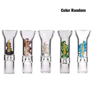 8mm 유리 직경 필터 컬러 다이아몬드 장식 유리 필터 노즐 코어 투명 유리 노즐 담배 홀더 LLA149