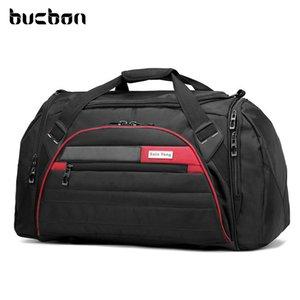 Bucbon 45L Große Multifunktions-Sporttasche Männer Frauen Fitness-Gymnastasche Wasserdichte Outdoor-Reise-Sport-Tote-Schulter-Taschen SGD001 Q0113