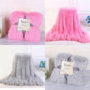 Manta otoño y el invierno de los niños de doble cara el terciopelo que espesa niños PV felpa de lana Mantas regalo de la venta caliente 17yx J2