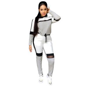 Spor Trainning Egzersiz için kadınlar spor Seti Hızlı kuru Spor egzersiz Suit Patchwork Spor Giyim Suits # 4 setleri