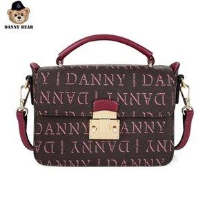 DTB9916008-205C Serie Carta Danny Oso mujeres bolso de Crossbody del Causal Vogue
