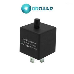 Indicador de la señal de giro impermeable universal de la flasher LED Indicador a prueba de agua CF14KT 3 PIN 12.8V 0.1W-150W1