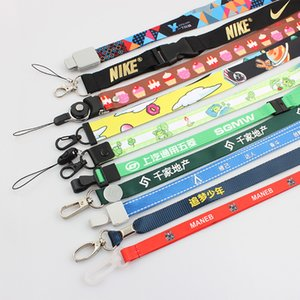 Free Shipping Free Shipping Custom Printed Lanyard For Keys Full Color Custom Design badge holder & Staff Cards