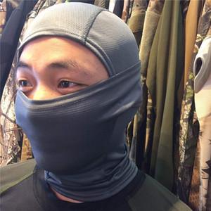 Şefler Kamuflaj Hood Açık Sürme Güneş Koruma Maskesi Hızlı Kuruyan Örgü Kumaş CS Hood Sıcak Satış 27 Renkler