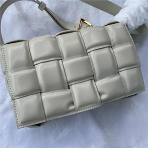 2020 크로스 바디 백 패키지 카세트 스폰지 가방 가죽 핸드백 대각선 격자 무늬 베개 여성의 어깨 가방 여성 handbagbag을위한 가방을 여자