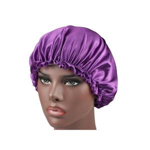 New Elastic Women Satin Bonnet Turban Hat Headwear Chemo Beanies Silk Donna Sleep Cap Ladies Hair Cover wmtHEb queen66