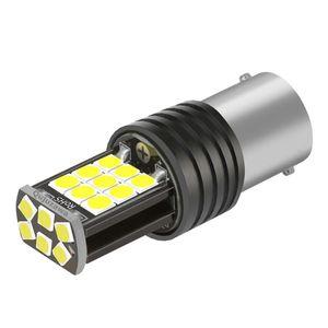 1PCS 1156 P21W 7506 BA15S R5W 3030 LED Car Tail Brake Bulb Turn Signals Auto Reverse Lamp Daytime Running Light Red Yellow White