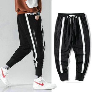 Nice Hip Hop Men Pantalones Hombre High Street Cargo Pants Zippers Pockets Joggers Harem Pants Men Streetwear Trousers Harajuku