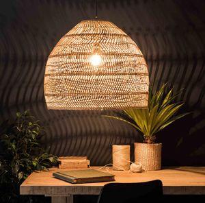 Oda Ev Dekorasyonu Cafe Restaurant Hanglamp Yemek Lambası LED Living Room Asma Yeni Çin Stil Rattan Lamba Işık Kolye Vintage