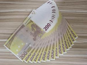 1111Movie New Prop Banknote Евро Валюта партии Поддельные деньги Деньги Подарочная игрушка Банкнота 987