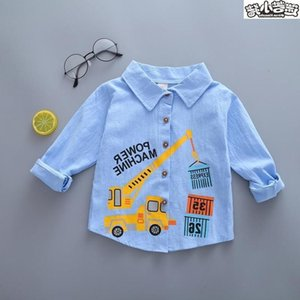 spring Cute boys' 1 and autumn wear 2 3 long sve children 4 baby 5 6 Fashion 7-year-old 9-inch SHIRT little boy