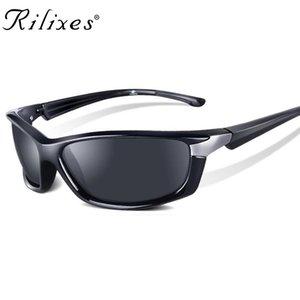 RILIXES Hot Vente Brand New Sunglasses Men Mode Homme Lunettes Lunettes de soleil Voyage Oculos Lunettes de soleil