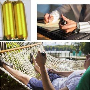 Taşınabilir Dekompresyon Palm Rulo Alüminyum Alaşım Masaj Dekompresyon Çubuk Değnek Altın Siliveri El Dekompresyon Oyuncak Aracı GWD4442