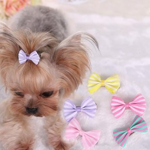اليدوية الجميلة مصمم الكلب الشعر الانحناء كليب القط جرو الاستمالة الانحناء للزينة الشعر شحن مجاني