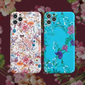 Fashion Designer Floral Style Iphone Cases + Airpods Case High Quality Iphone 11Promax 11Pro 11 AirPods 1 2 AirPods Pro Packages